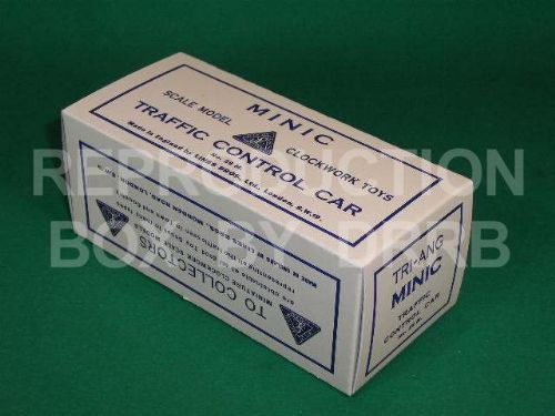 Minic #29M Traffic Control Car - Reproduction Box